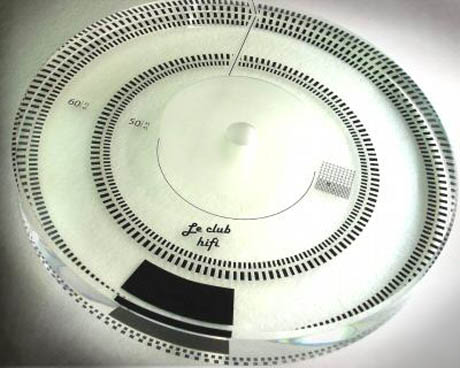 le club hifi turntable platter