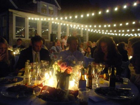 Lighting for my friends wedding July 6 2009