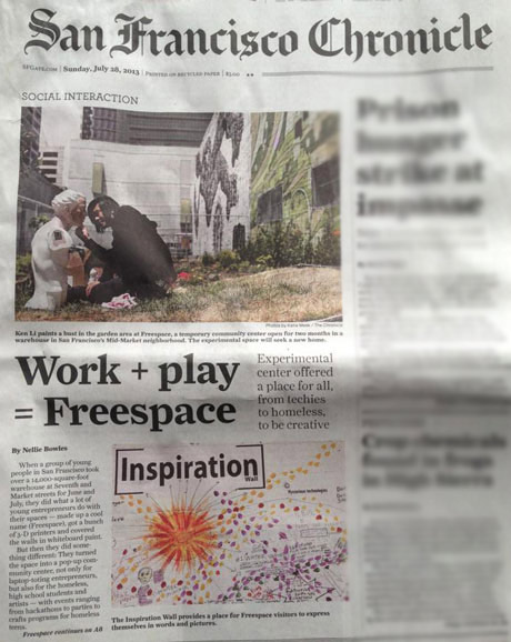 Freespace in the San Francisco Chronicle