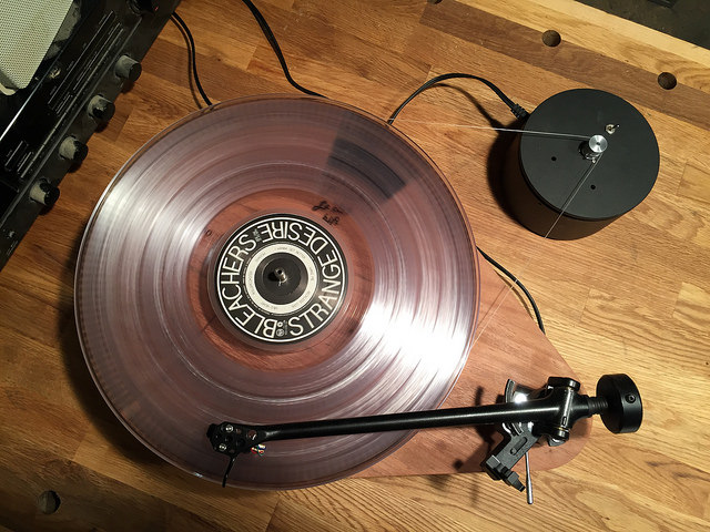 DIY Record Player Mockup